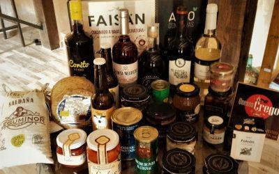 """En Navidad, la """"Tienda de La Zarcera"""" ofrece lotes con productos del Cerrato"""